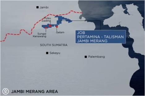 jambi merang area